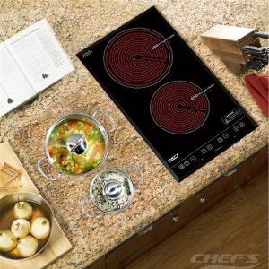 Bếp hồng ngoại đôi CHEFS EH-DHL32A
