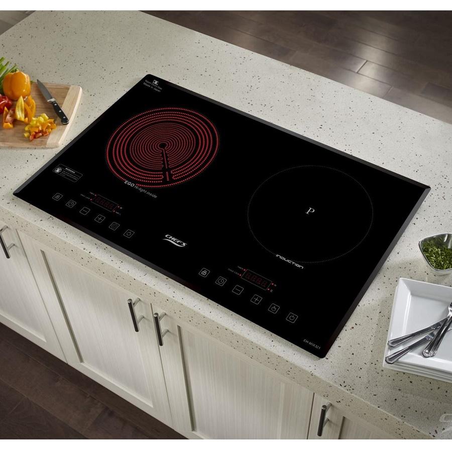 Bếp điện từ hỗn hợp CHEFS EH-MIX321