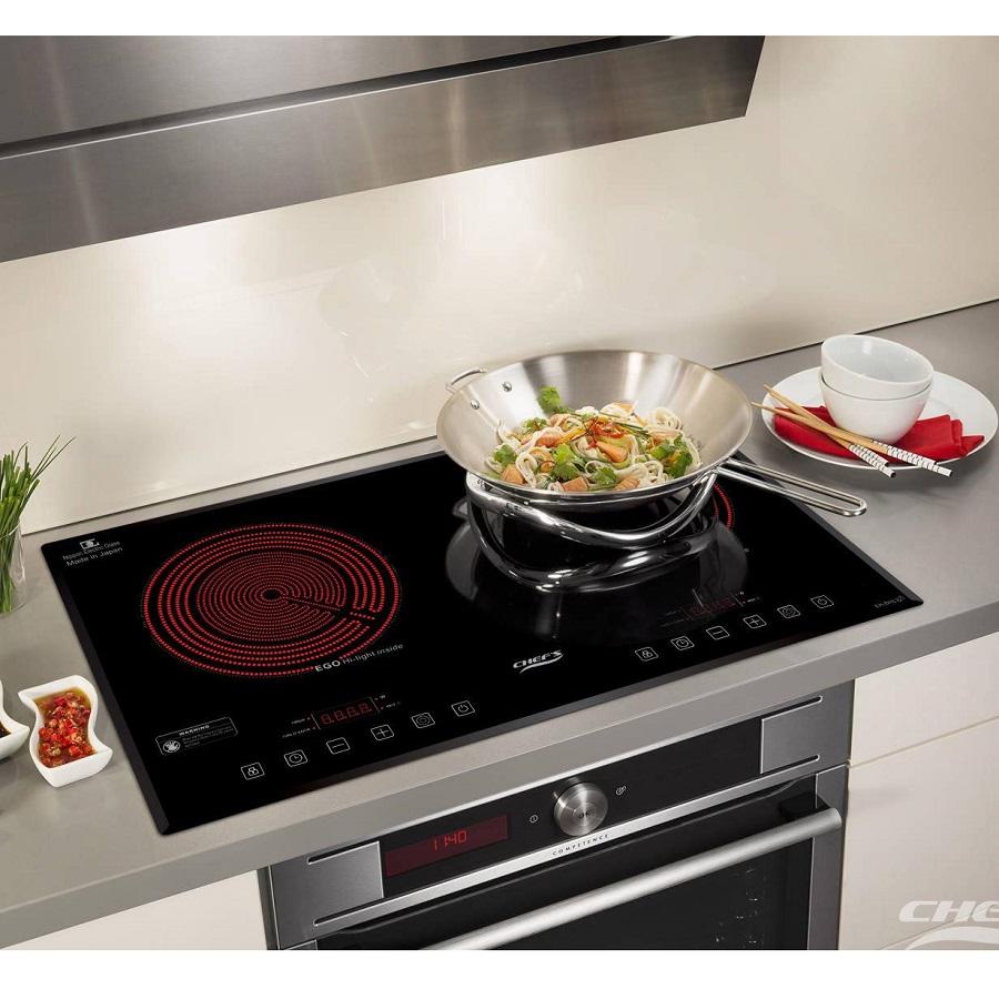 - Sử dụng linh hoạt, dễ dàng với bếp hai hồng ngoại EH-DHL321