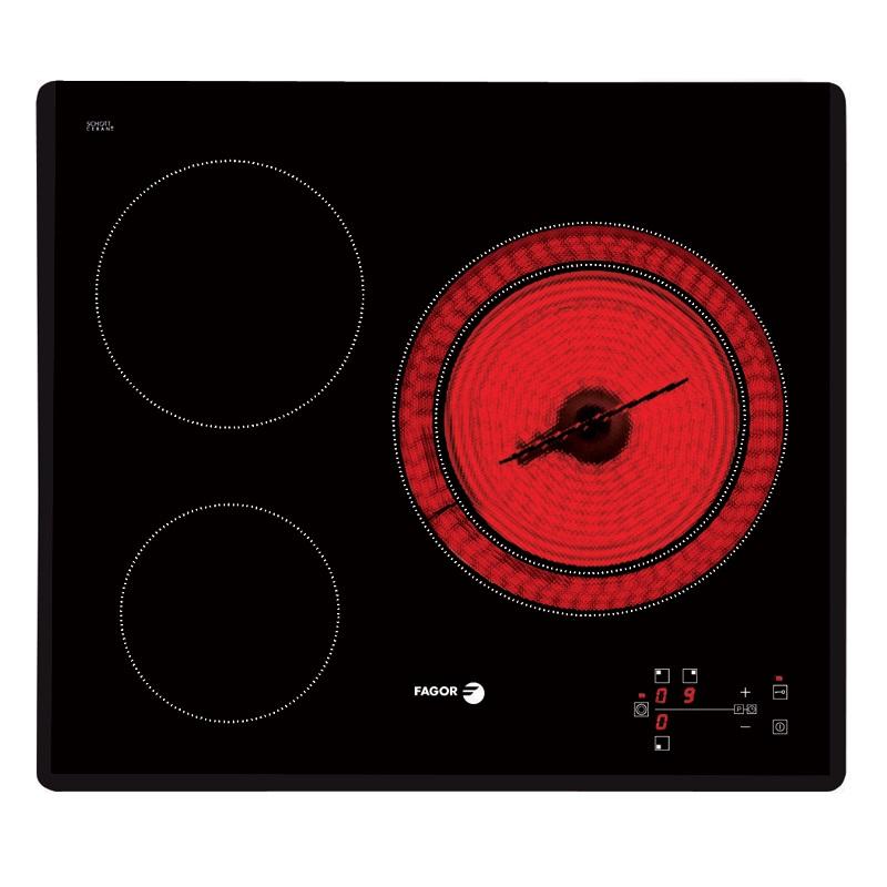 Bếp điện 3 bếp Fagor VITROCERAMIC 2V-33TS