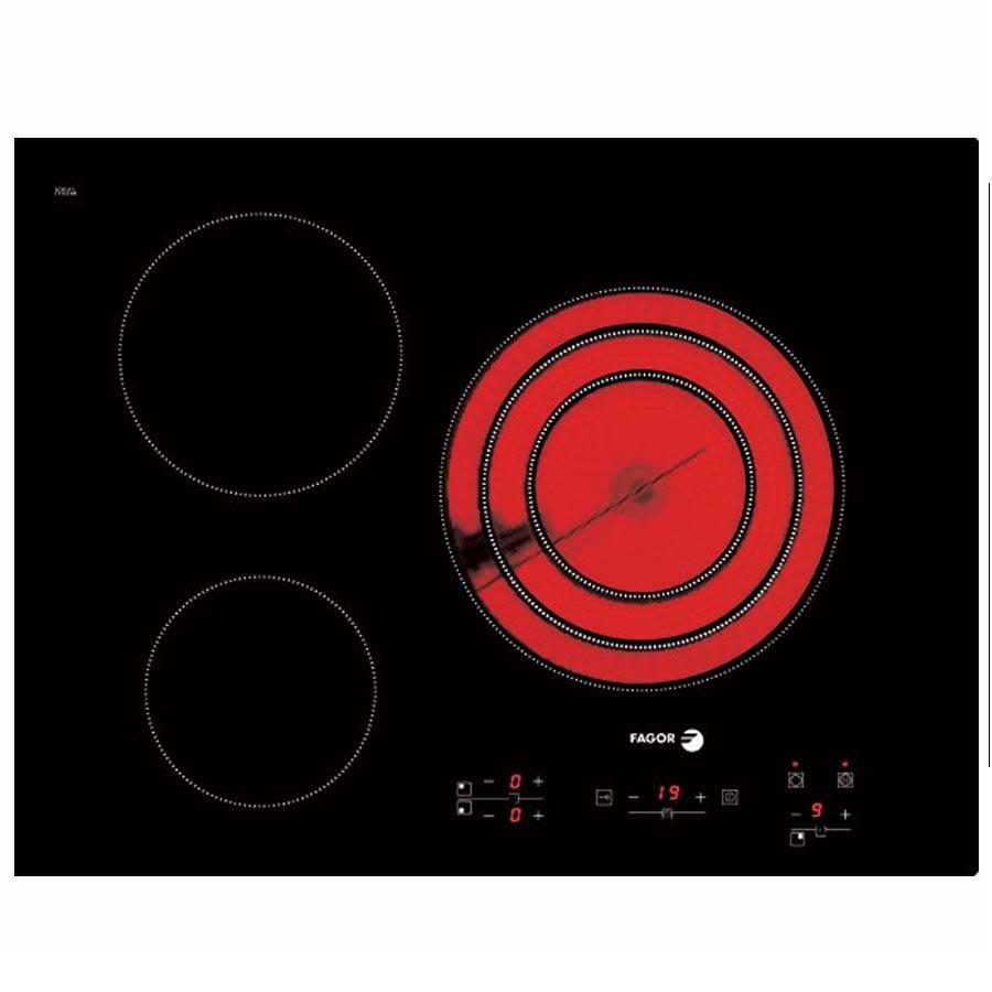 Bếp điện 3 bếp Fagor VITROCERAMIC 2VFT-700AS