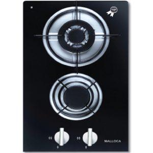 Bếp Domino 2 gas Malloca DG 02